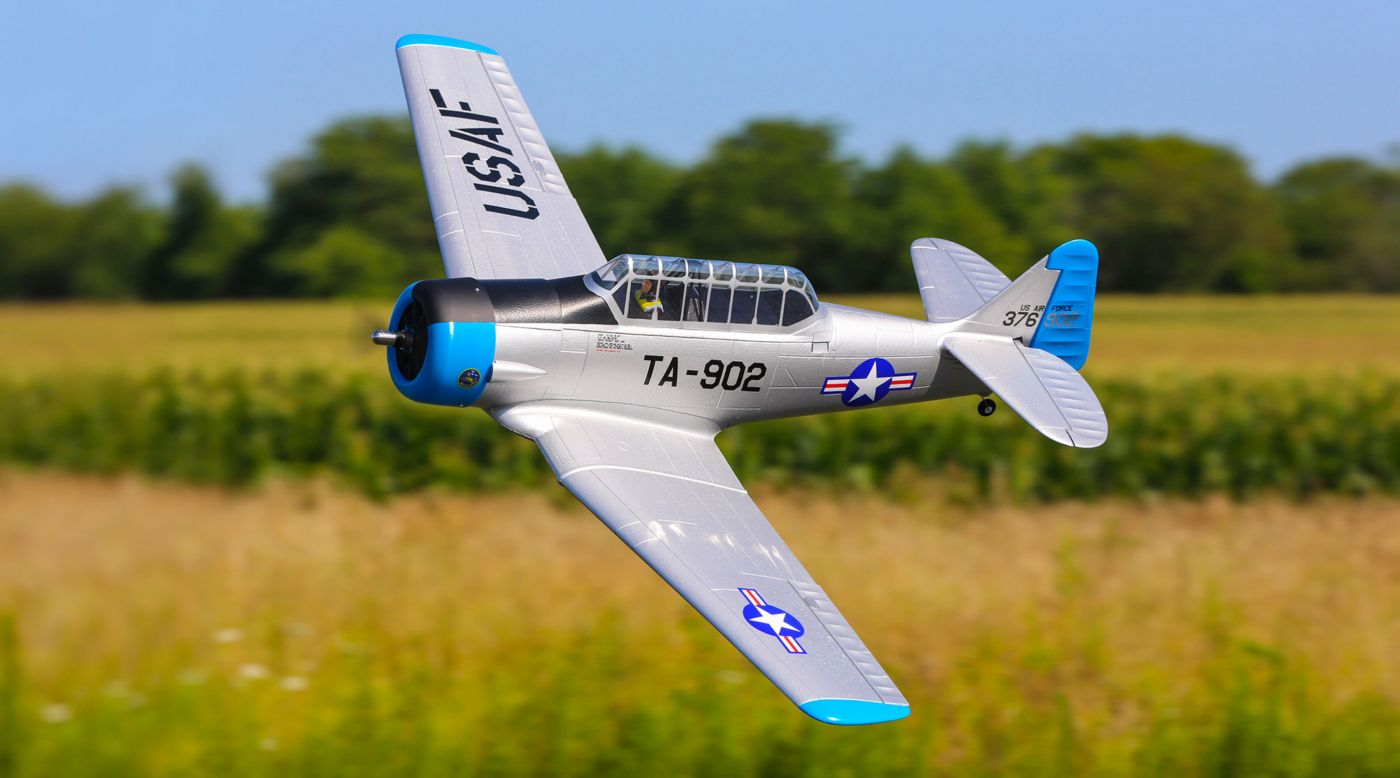 E-flite AT-6 1.5m BNF Basic - SNHE