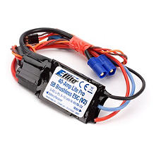 E-flite 40-Amp Lite Pro Switch-Mode BEC Brushless ESC (V2) - SNHE