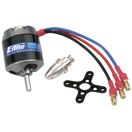 Park 450 Brushless Outrunner Motor, 890Kv - SN Hobbies
