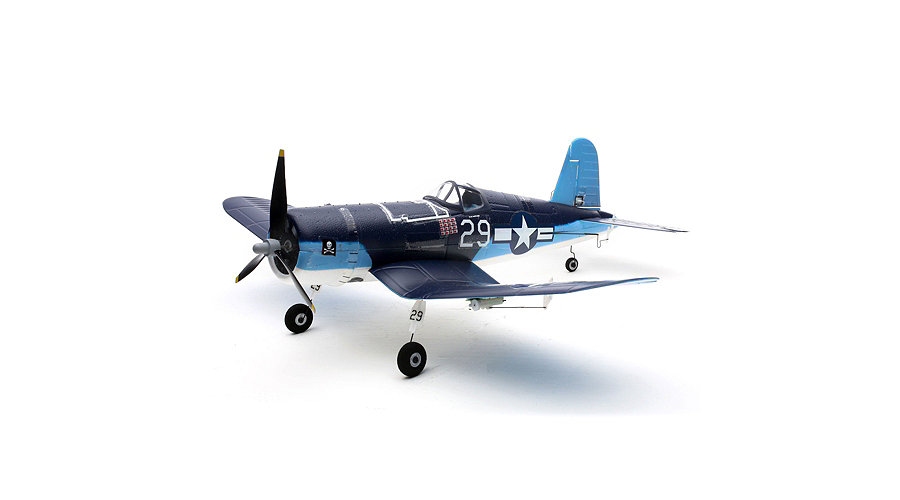 E-flite Ultra Micro F4U Corsair BNF with AS3X® Technology - SNHE