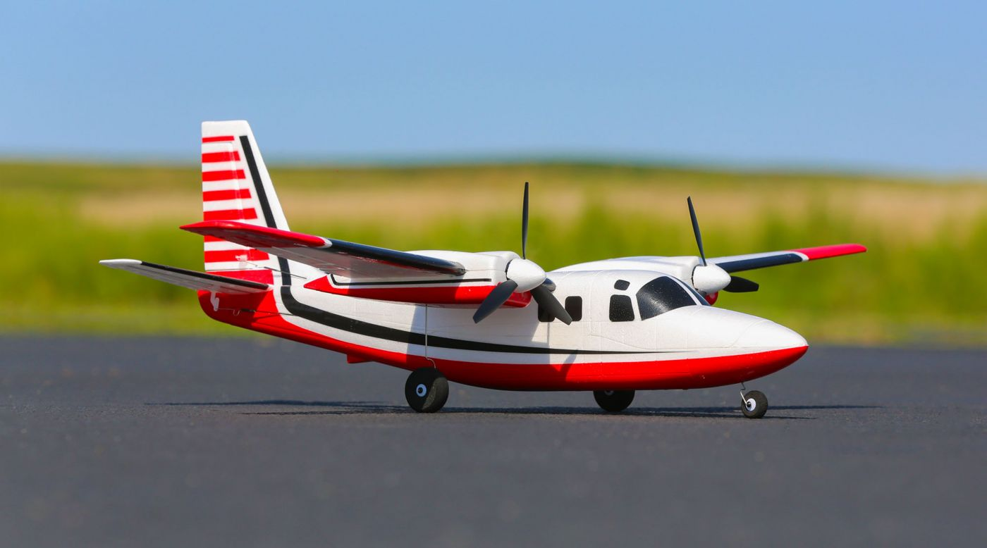 E-flite UMX Aero Commander BNF Basic with AS3X - SNHE