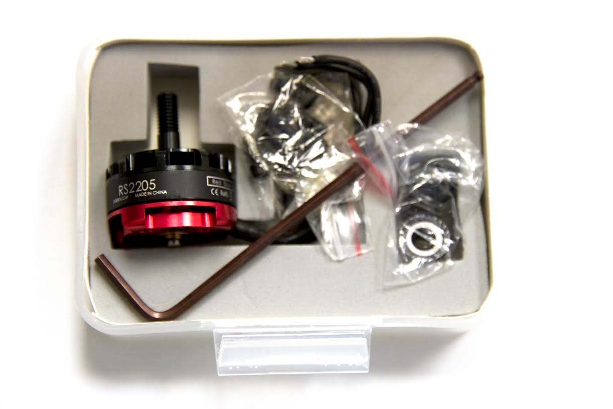 Emax RS2205 2600KV Cooling Series Race Motor - CLOCKWISE - SNHE