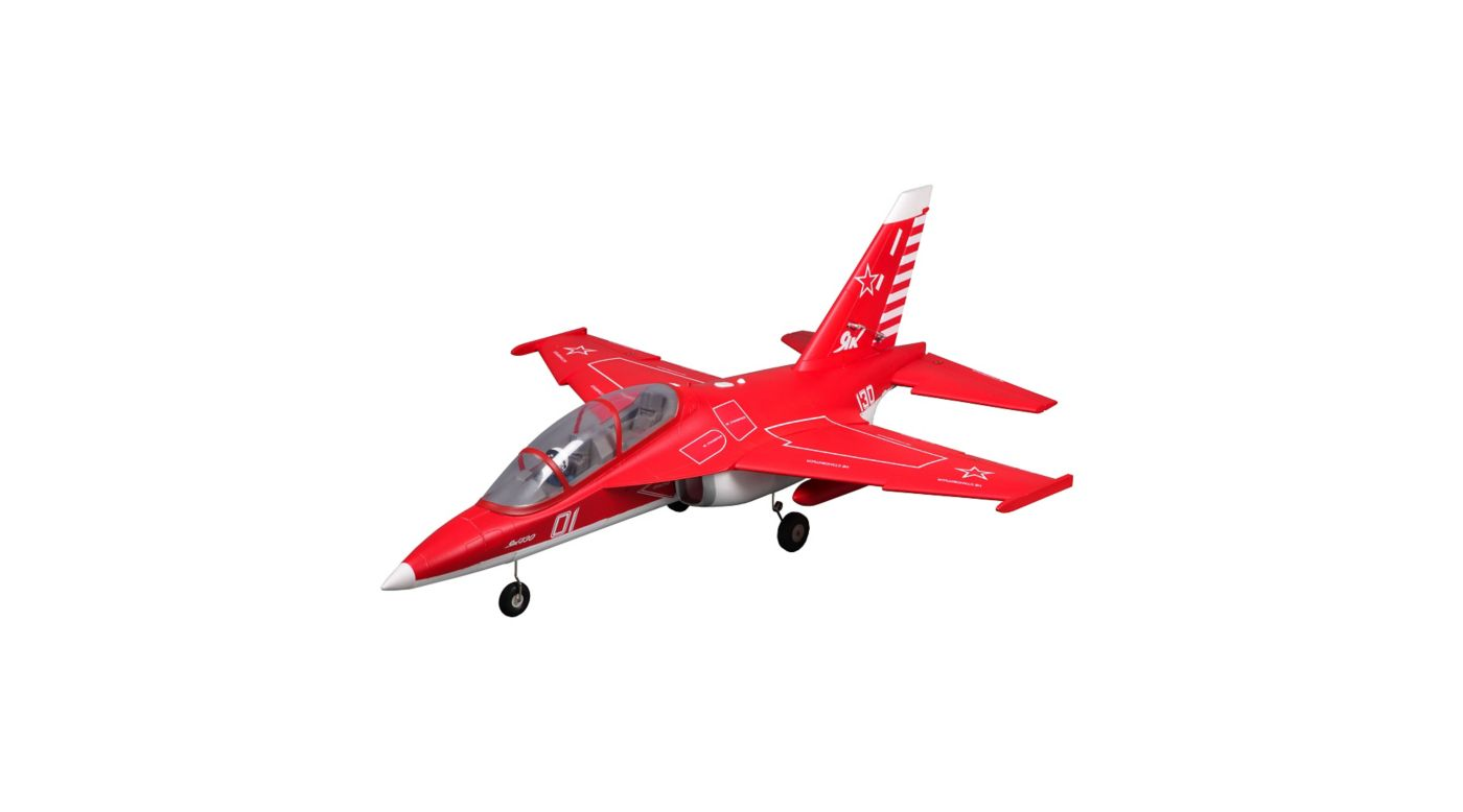 FMS Yak 130 Jet PNP, 70mm: Red - SNHE