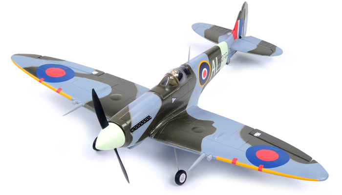 FMS 800mm Spitfire Brushless Powered RC Warbird Kit Only (New Version) - SNHE
