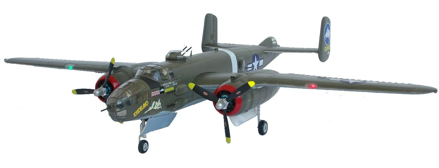 SN Hobbies - FMS 1470mm B-25 Bomber Twin Brushless RC Warbird