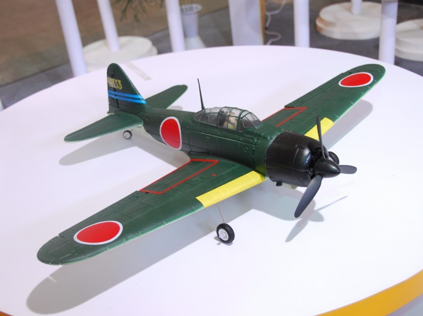 FMS 800mm Zero Brushless Powered RC Warbird Plug-N-Play (New Version) - SN Hobbies