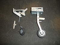 Big P51 Tail Landing Gear System - SN Hobbies