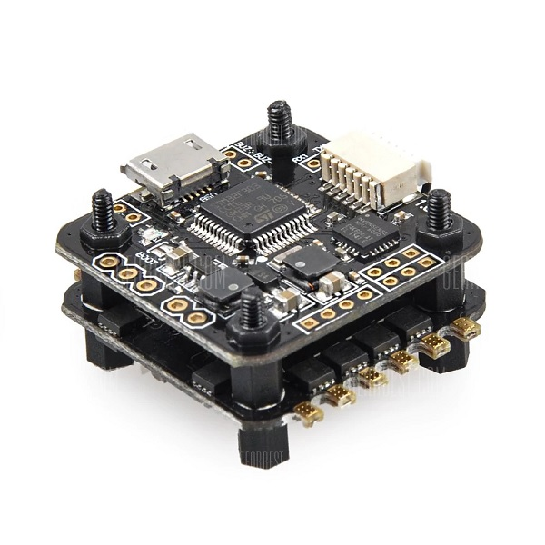 FULL SPEED F3 2S-4S Flight Tower with OSD 20 x 20 Mounting Hole 20A ESC Support Dshot600 - SNHE