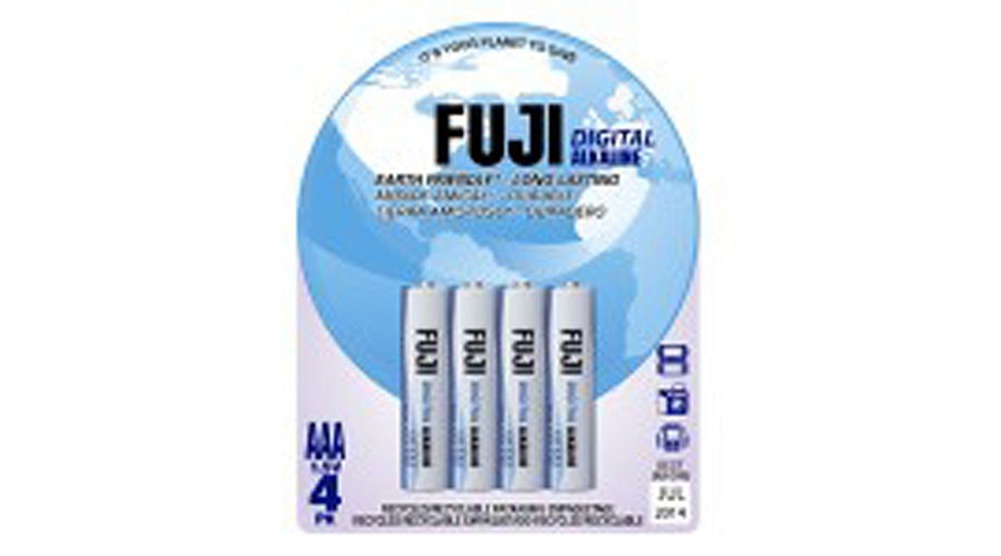 Fuji Novel Batteries AAA Digital Alkaline Battery (4) - SNHE