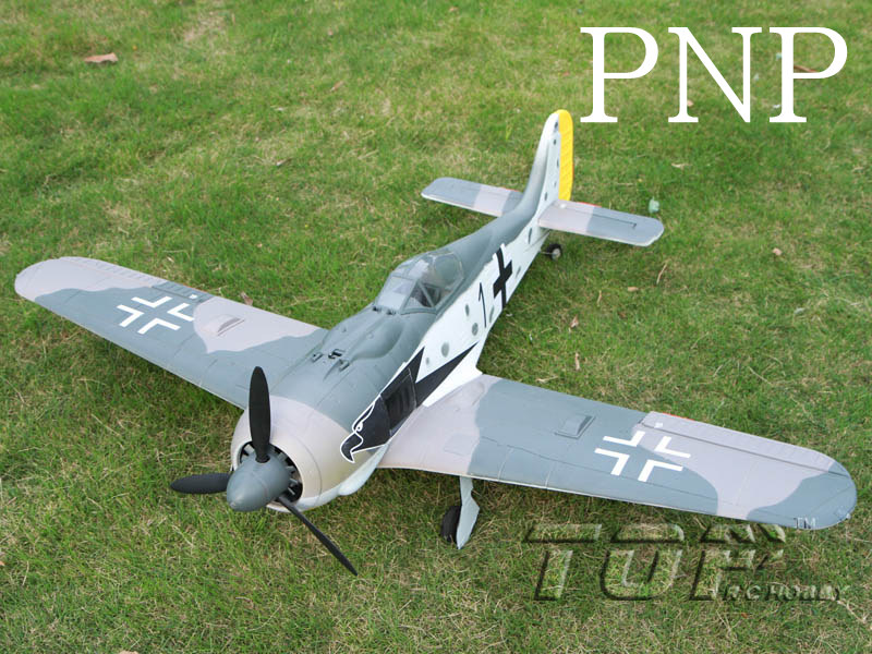 Top RC FW190 PNP version(with flaps and electronic retractable landing gear) B color - SN Hobbies