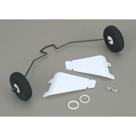 Landing Gear with Tires: Super Cub LP - SN Hobbies