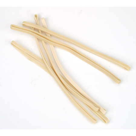 White Rubber Bands (6): Super Cub LP - SN Hobbies