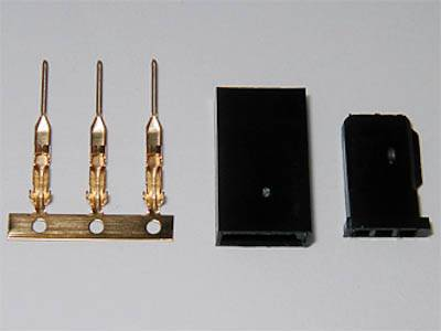 HYPERION SERVO CONNECTOR - FEMALE (5 PCS) - SN Hobbies