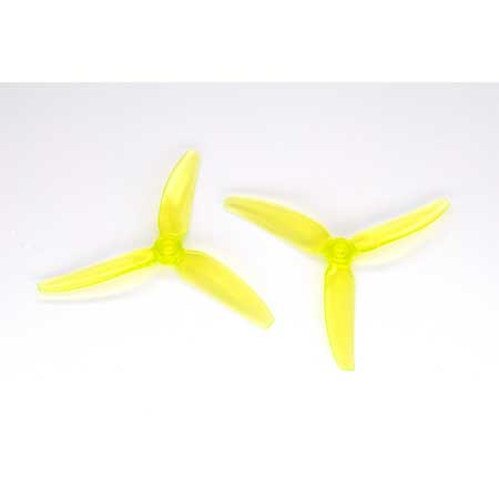 HQ Durable PC Prop <b>5X4.3X3V1S:</b> <font color=&quot;yellow&quot;><b>Yellow</b></font> (4CW+4CCW) - SNHE