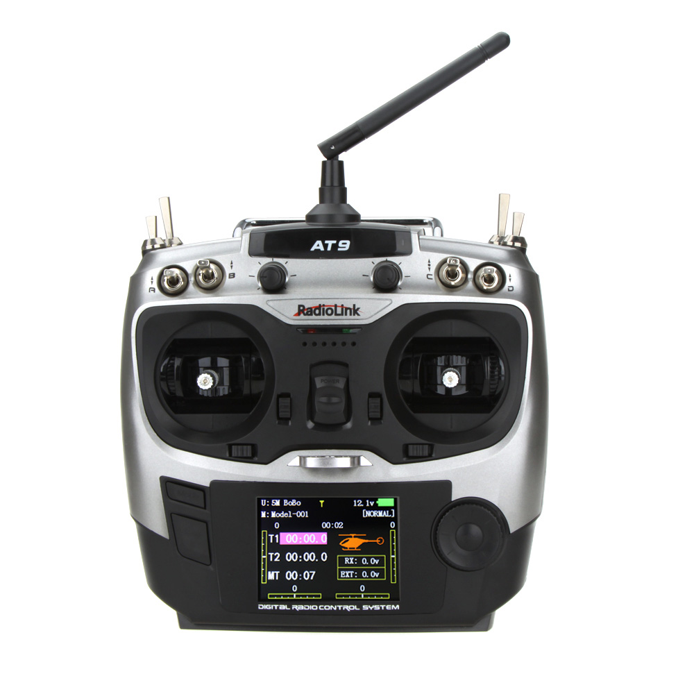 RadioLink AT-9 Aircraft Transmitter with R9D Receiver - SNHE