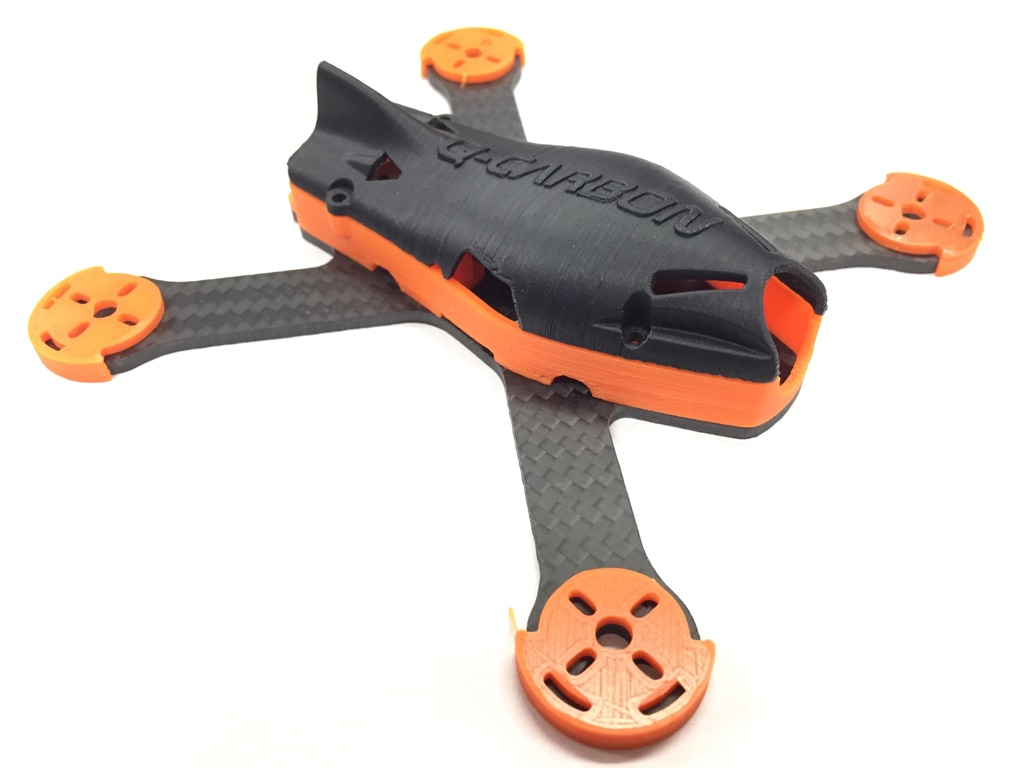 Q-Carbon 130 BLX Edition Starter Kit - <b><font color=&quot;Orange&quot;>Orange</b></font> - SNHE
