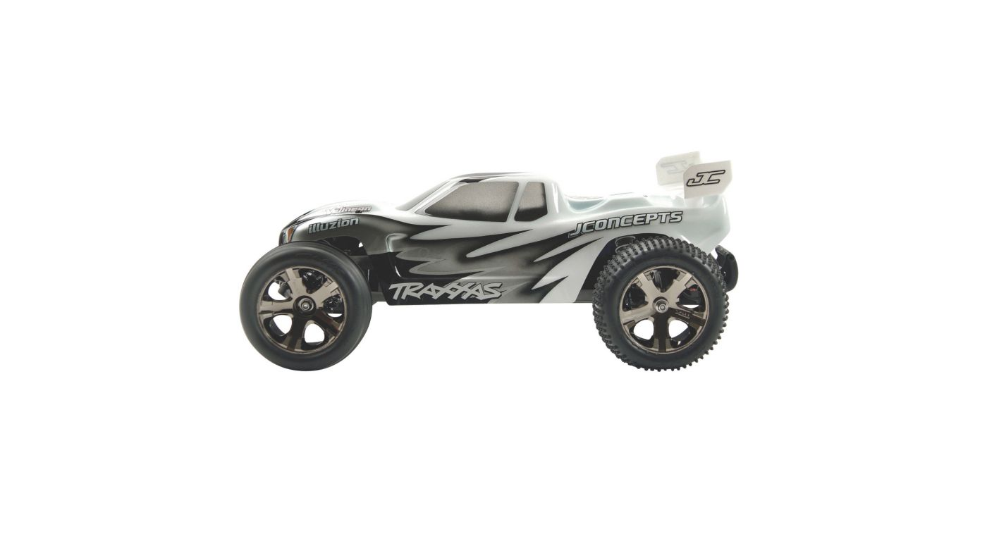 J Concepts Illuzion Clear Body, Hi Speed w/ Wing: Rustler VXL - SNHE