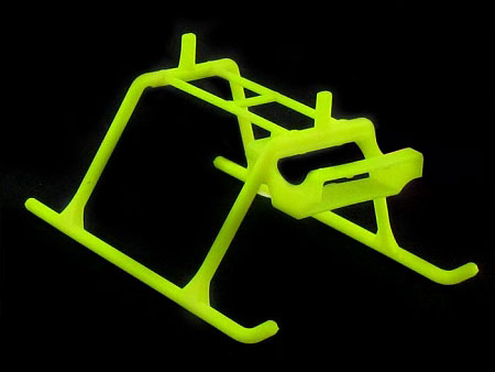 KBDD Extreme Edition MCPX Landing Skid - Yellow - SNHE
