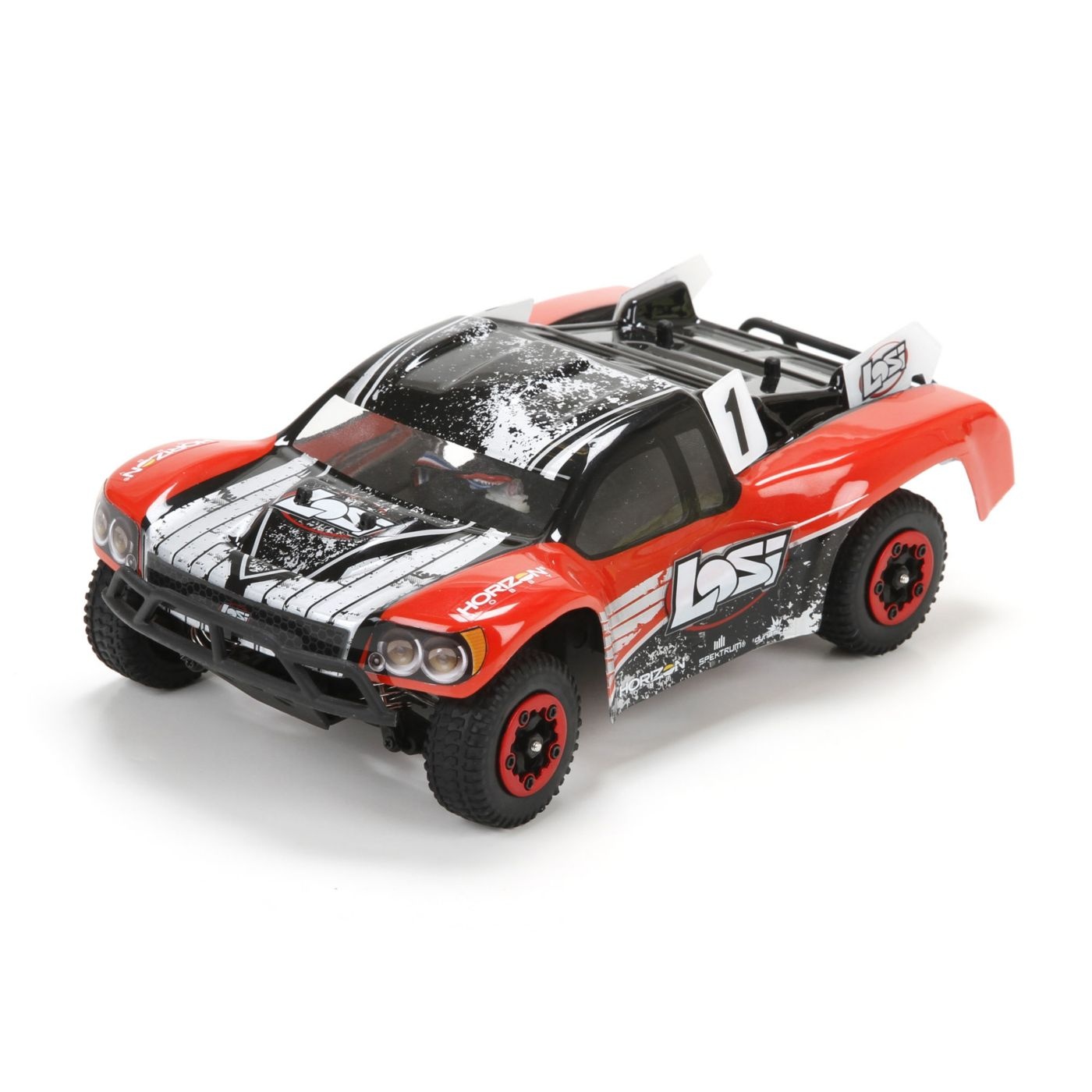 Losi 1/24 Micro SCTE Brushless 4WD RTR Red - SNHE
