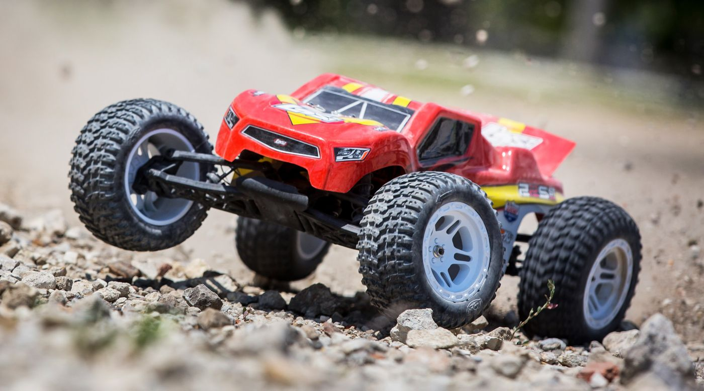 Losi 1/10 22S ST 2WD Brushless RTR with AVC: Red/Yellow - SNHE