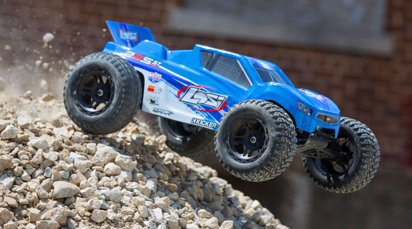 Losi 1/10 22S ST 2WD Brushless RTR with AVC Blue/Silver - SNHE