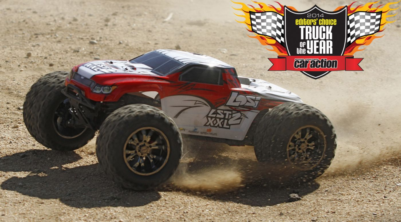Losi 1/8 LST XXL-2 4WD Gas Monster Truck RTR with AVC� Technology - SNHE
