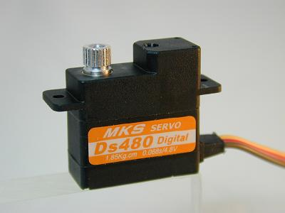 MKS DS480 Digital Servo with All Metal Gears - SNHE