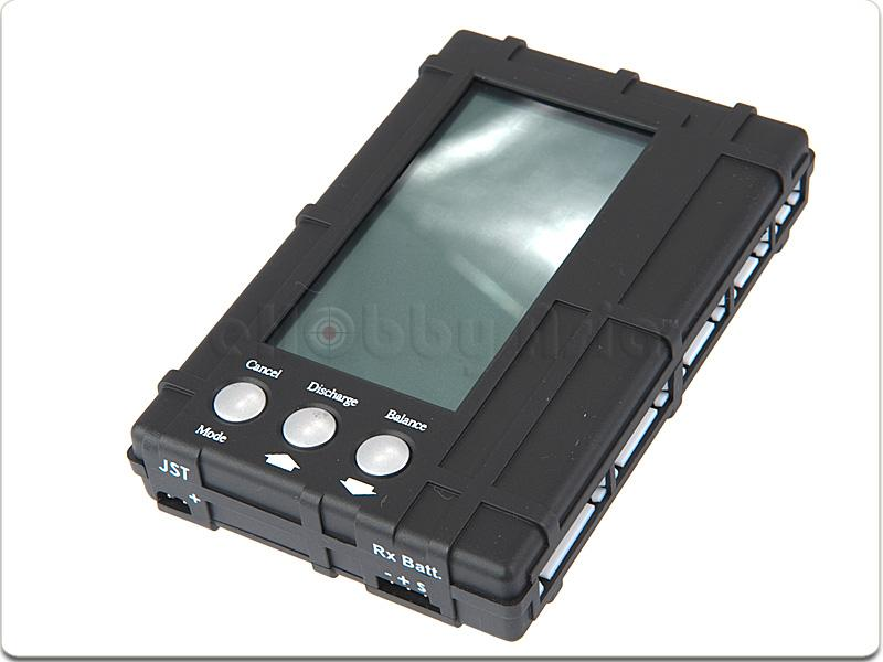 3 in 1 LCD Li-Po/Li-Fe Life Battery Meter Balancer - SNHE