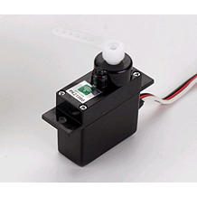 ParkZone Mini Servo (3W) with Arms, Short Lead - SNHE
