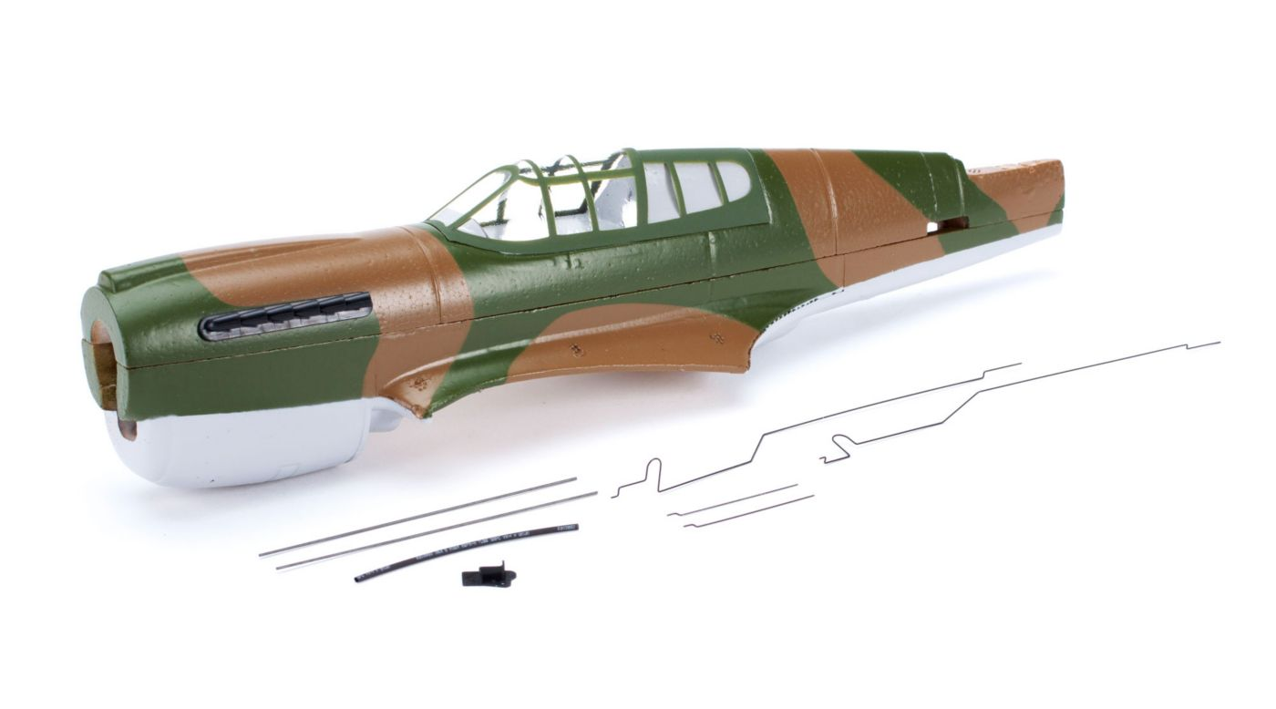 Parkzone Fuselage w/Canopy: Ultra-Micro P-40 Warhawk - SNHE