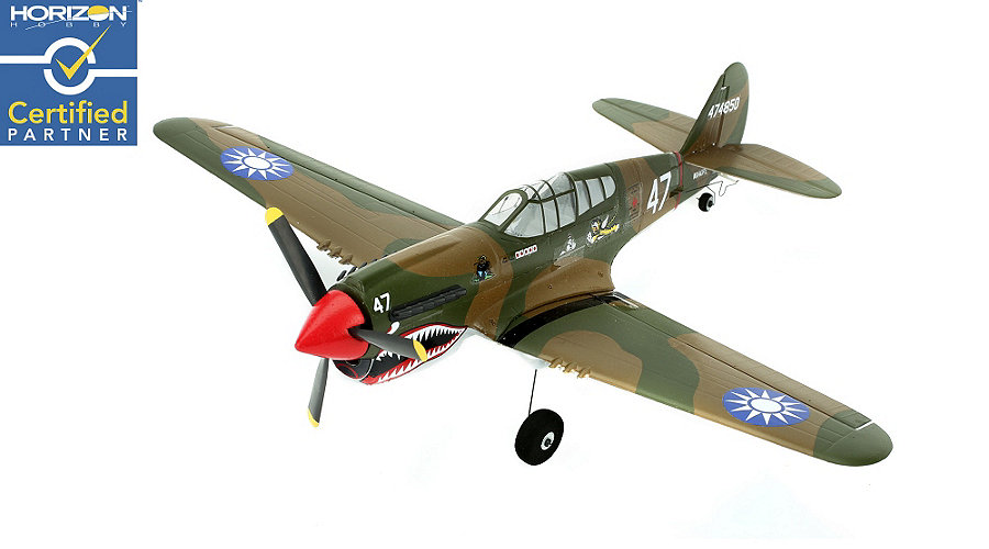 ParkZone UM P-40 Warhawk BNF with AS3X Technology - SN Hobbies