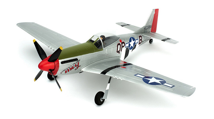 ParkZone Ultra Micro P-51D Mustang BNF with AS3X Technology - SN Hobbies