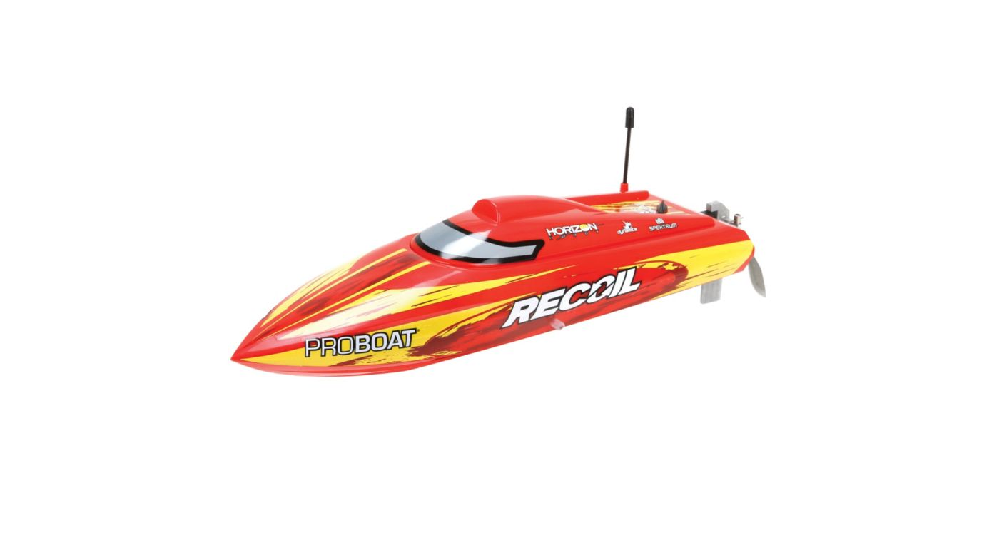 "Pro Boat Recoil 17"" Self-Righting Deep V Brushless: RTR - SNHE"