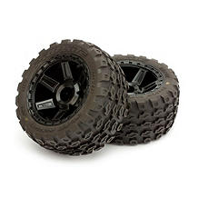 "Pro-Line Dirt Hawg 2.8"" Mounted Desperado Wheels (2) - SNHE"