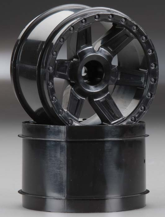 "Pro-Line Desperado 2.8"" Black Rear Wheels (2) - SNHE"