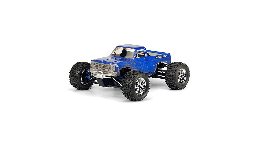 PRO-LINE 1980 Chevy Pick-Up: Revo 3.3, MGT Body - SN Hobbies