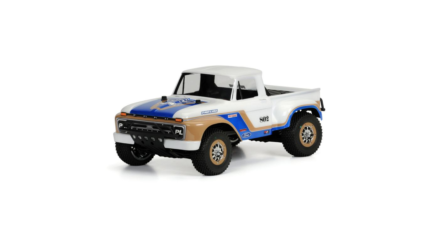 Proline Racing 1966 Ford F-150 Clear Body: Slash, Slash 4x4 - SNHE