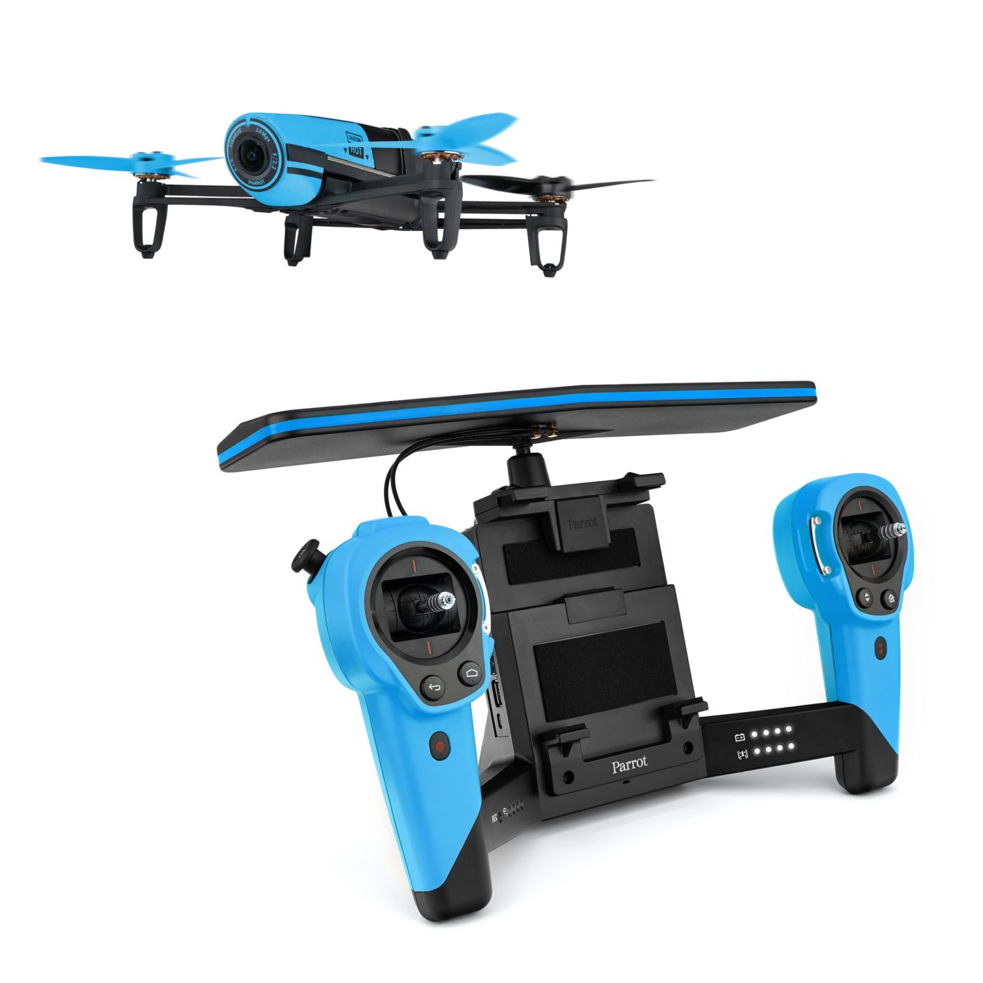 Parrot Bebop Drone and SkyController Bundle, Blue - SNHE