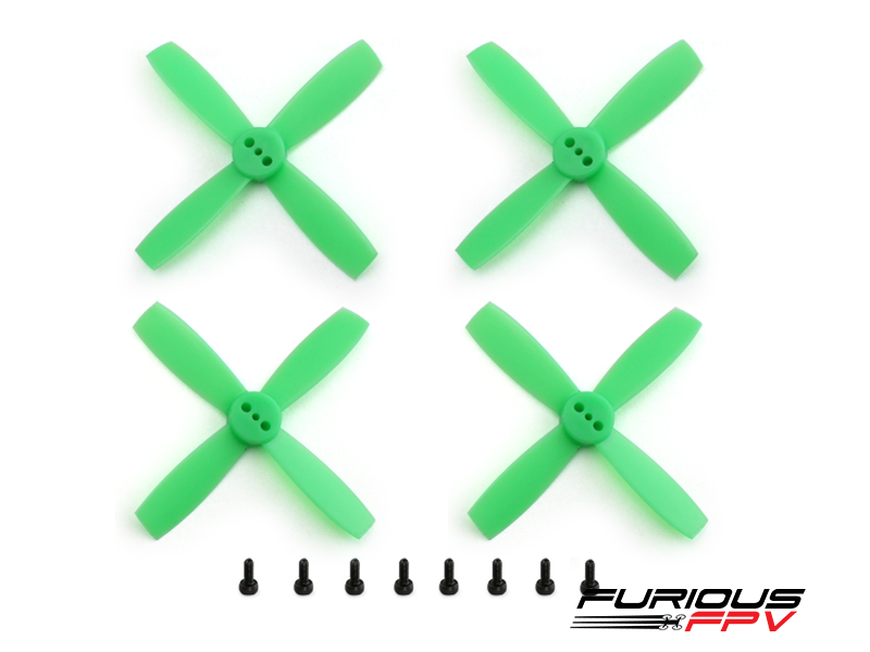 FURIOUSFPV HIGH PERFORMANCE 2035-4 PROPELLERS (NEON GREEN 2CW & 2CCW) - SNHE