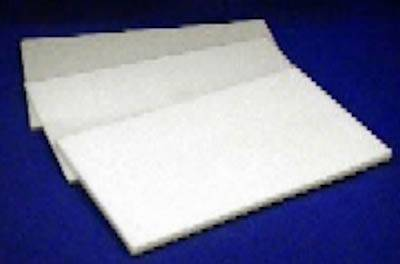 3 MM WHITE DEPRON SHEET - SN Hobbies