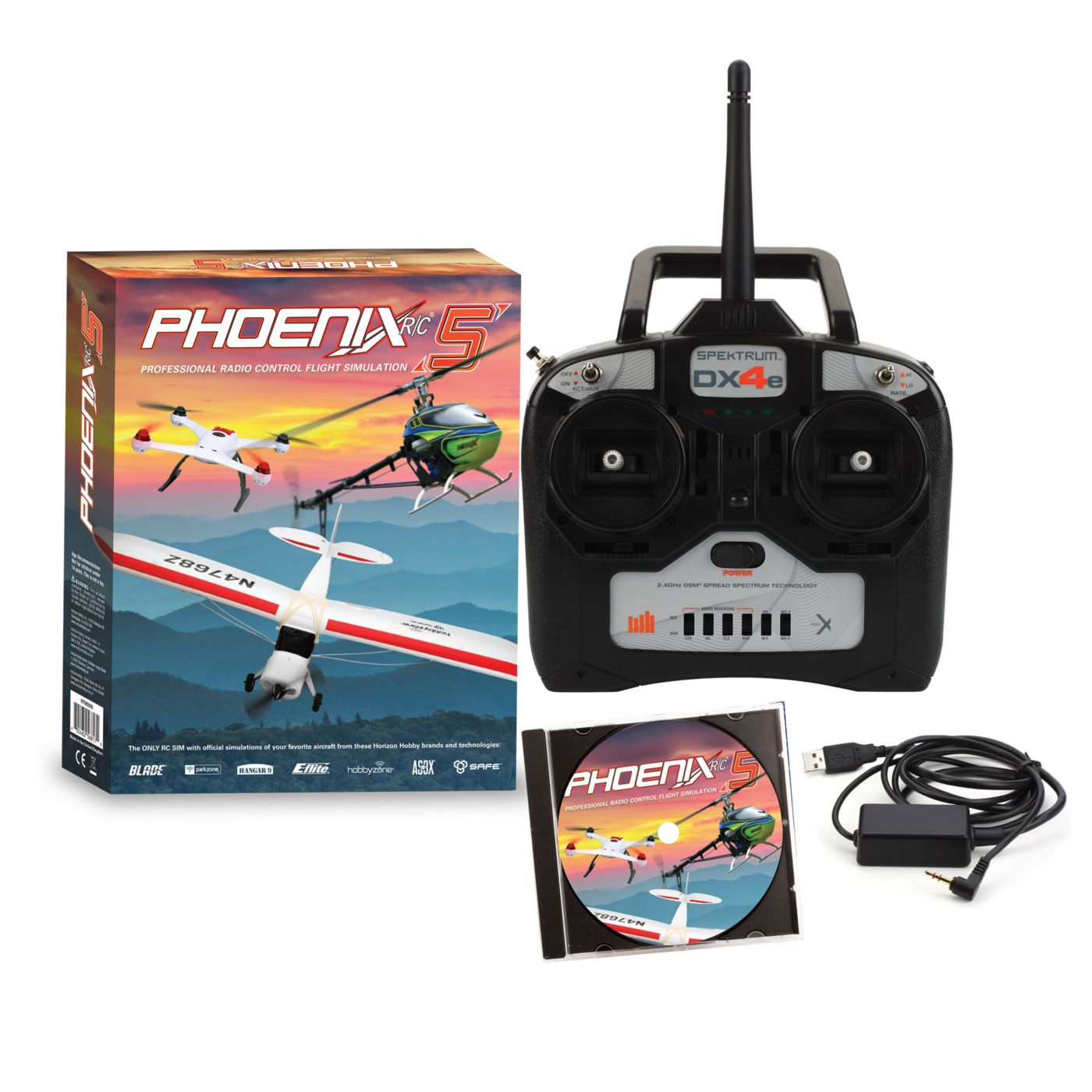 Phoenix R/C Pro Simulator V5.0 with DX4e - SNHE
