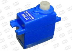 MKS NARO S1618 FET Servo (Blue) with 1 metal gear - SNHE