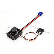 Spektrum AR7110R 7CH DSMX Heli Receiver with Rev Limiter - SNHE