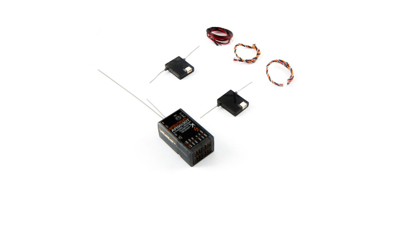 Spektrum AR9030T 9-Channel Air Integrated Telemetry Receiver - SNHE