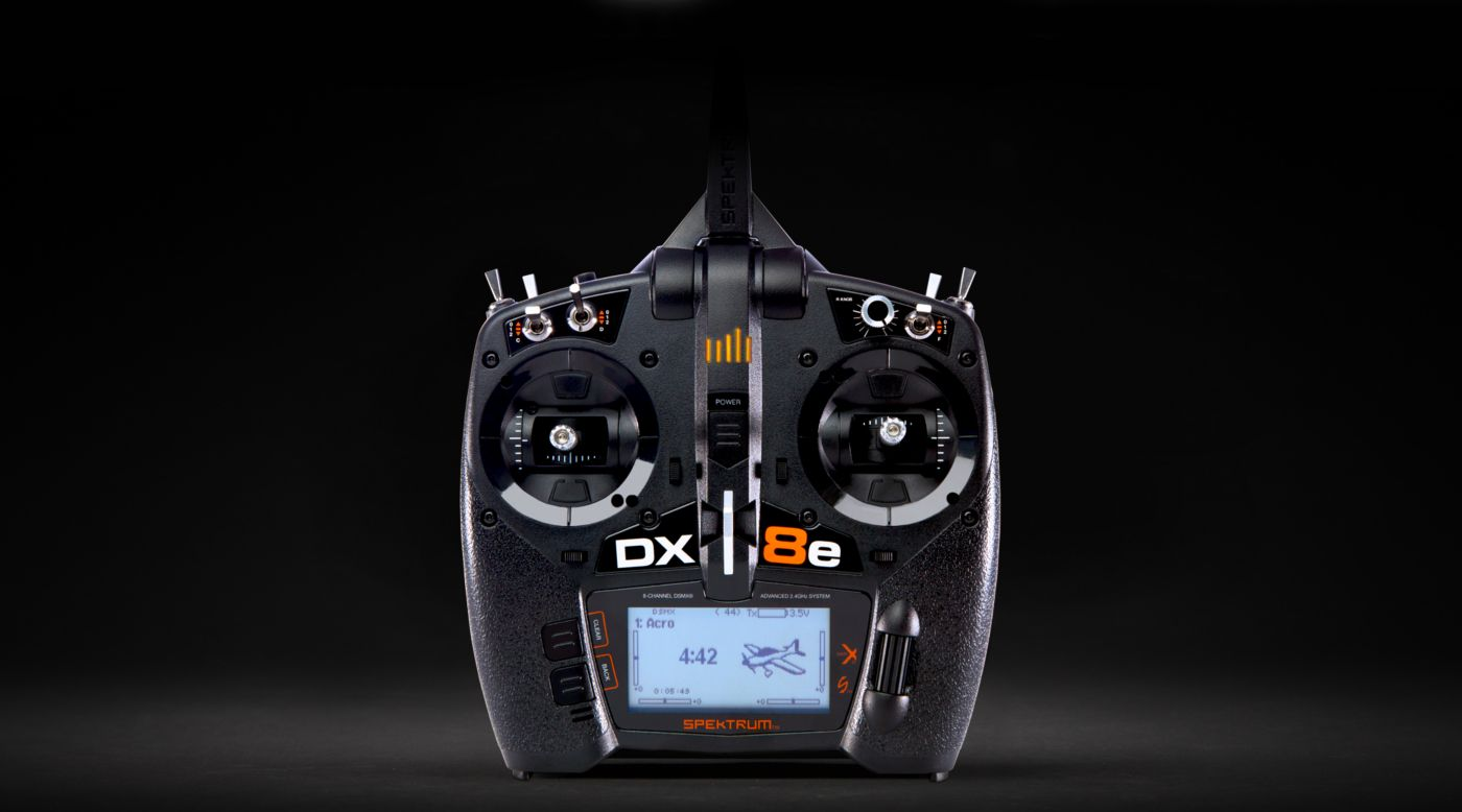 Spektrum DX8e 8-Channel DSMX Transmitter Only - SNHE