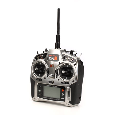 DX8 DSMX Transmitter Only MD2 - SN Hobbies
