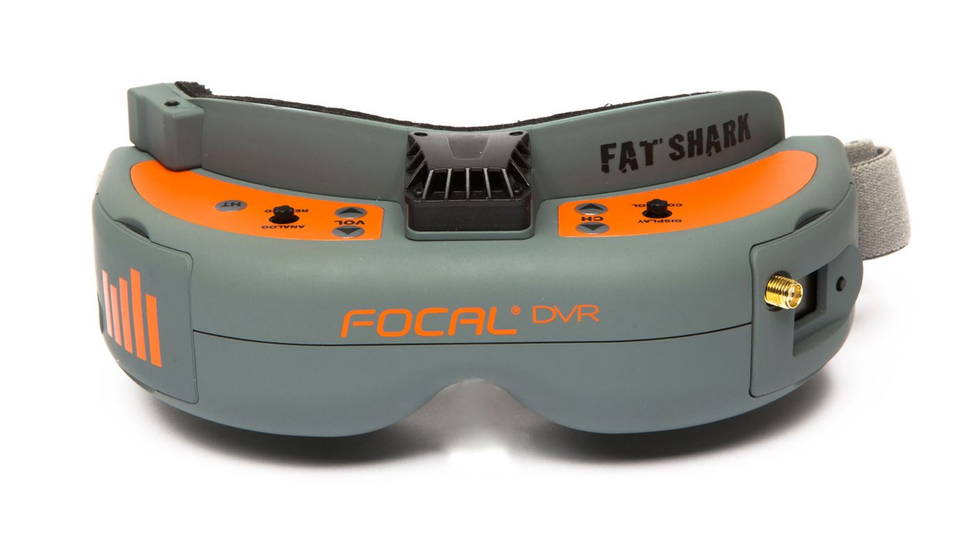 Spektrum Focal DVR FPV Headset - SNHE