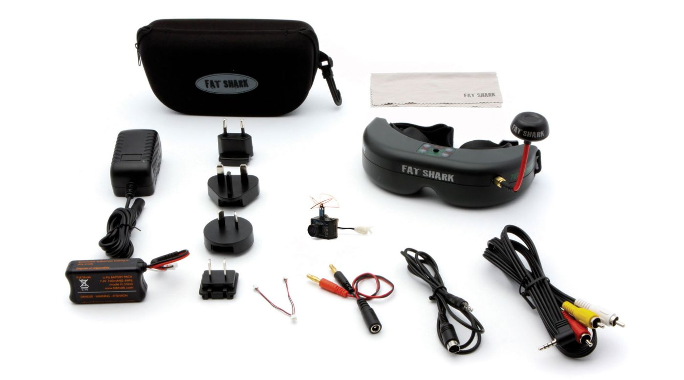 Spektrum Fat Shark Ultra Micro FPV System with Headset - SNHE