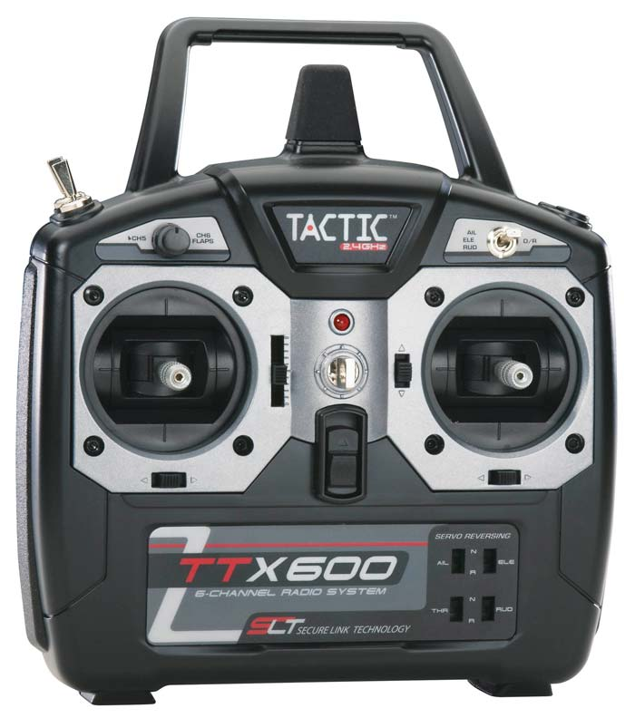 Tactic TTX600 6-Channel 2.4GHz Radio System No Servos - SNHE