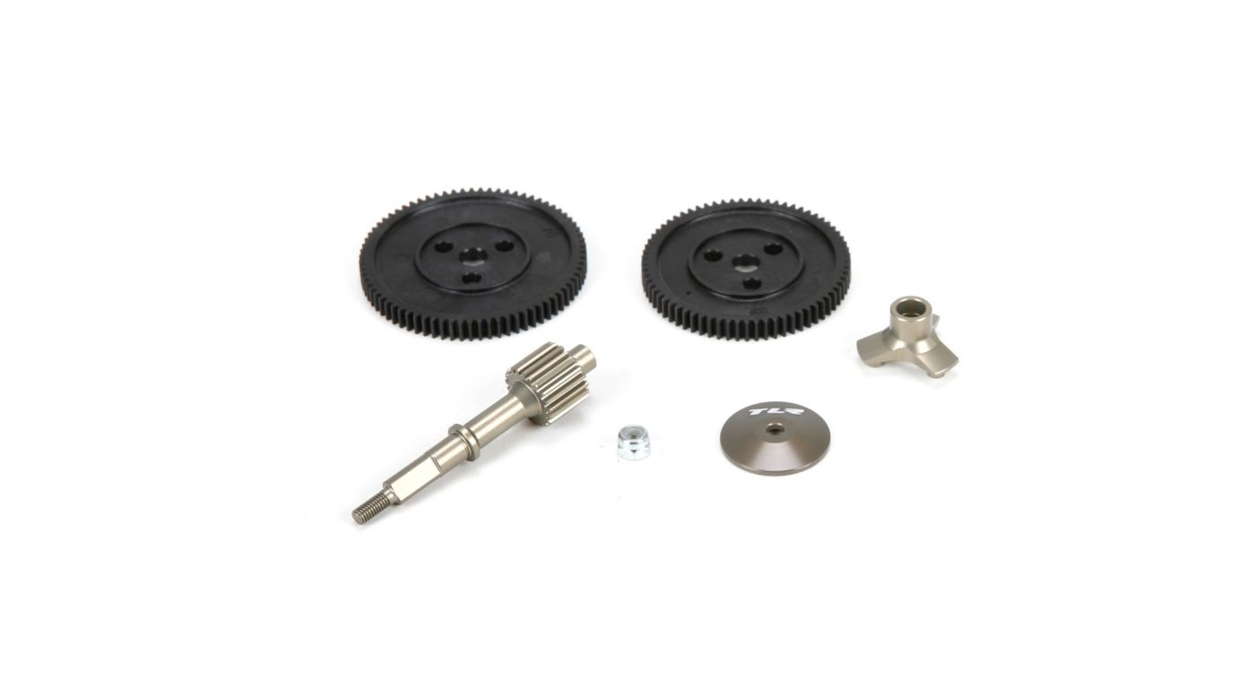 TLR Direct Drive System, Set: All 22 - SNHE